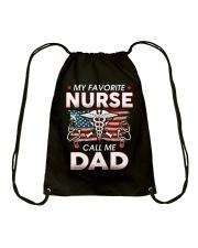 My Favorite Nurse Call Me Dad Drawstring Bag thumbnail