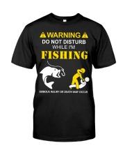 WARNING - FISHING Premium Fit Mens Tee thumbnail