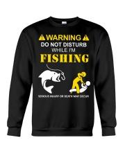 WARNING - FISHING Crewneck Sweatshirt thumbnail