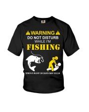 WARNING - FISHING Youth T-Shirt thumbnail