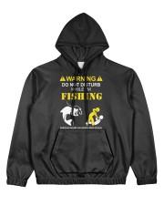 WARNING - FISHING Women's All Over Print Hoodie thumbnail