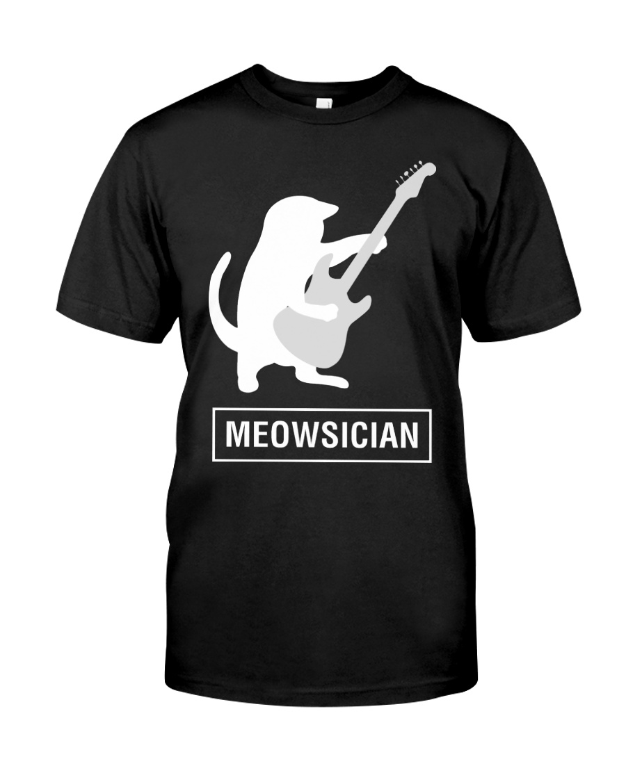AWESOME UGLY DESIGN FOR GUITAR PLAYERS Classic T-Shirt