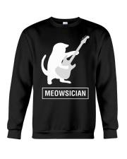 AWESOME UGLY DESIGN FOR GUITAR PLAYERS Crewneck Sweatshirt thumbnail