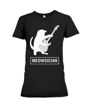 AWESOME UGLY DESIGN FOR GUITAR PLAYERS Premium Fit Ladies Tee thumbnail