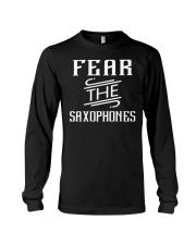 FUNNY SAX TSHIRT FOR SAXOPHONE PLAYER Long Sleeve Tee thumbnail