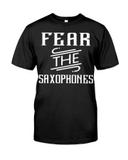 FUNNY SAX TSHIRT FOR SAXOPHONE PLAYER Premium Fit Mens Tee thumbnail