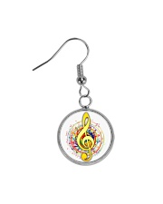 Jewelry for music lovers Circle Earrings thumbnail
