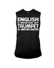 TRUMPET TSHIRT FOR TRUMPETER Sleeveless Tee thumbnail