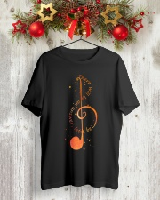 Let it be Treble clef music tshirt Classic T-Shirt lifestyle-holiday-crewneck-front-2