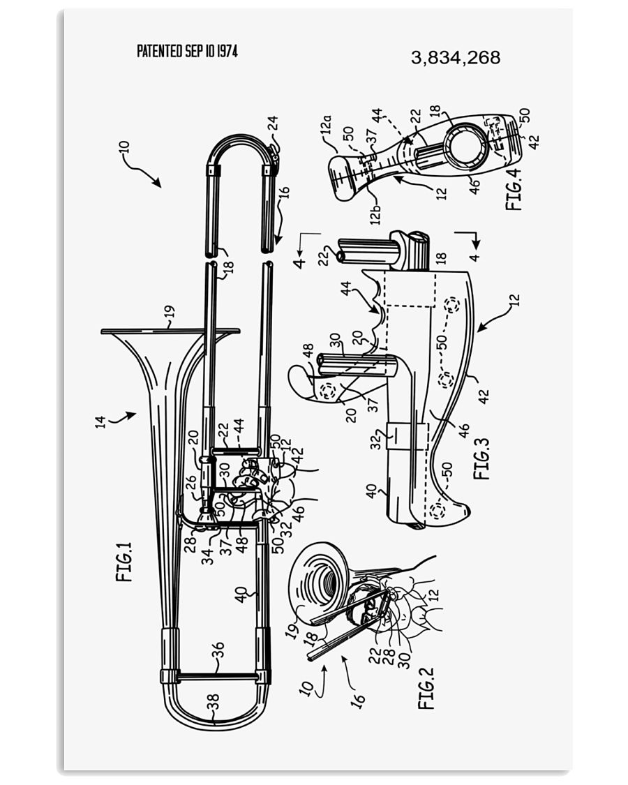 MUST HAVE FOR TROMBONISTS 16x24 Poster
