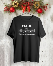 I'M A FAB FABULOUS DAD ALTO CLEF - FATHER'S DAY Classic T-Shirt lifestyle-holiday-crewneck-front-2