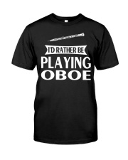 FUNNY DESIGN FOR OBOE PLAYERS Premium Fit Mens Tee thumbnail