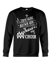 CHOIR SINGING SINGER VOCALIST - SING TSHIRT Crewneck Sweatshirt thumbnail
