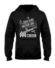 CHOIR SINGING SINGER VOCALIST - SING TSHIRT Hooded Sweatshirt thumbnail