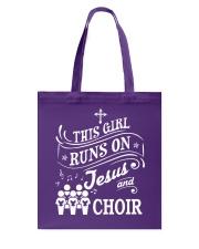 CHOIR SINGING SINGER VOCALIST - SING TSHIRT Tote Bag thumbnail
