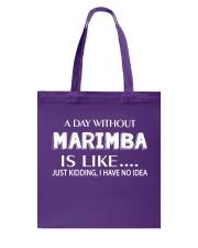 FUNNY DESIGN FOR MARIMBA PLAYERS Tote Bag thumbnail
