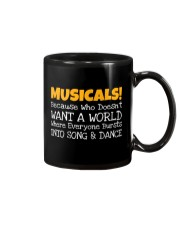 Musicals Want A World Into Song And Dance Theatre Mug thumbnail