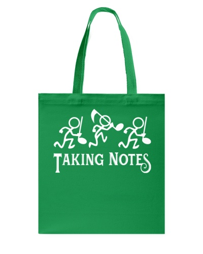 Taking Notes Funny Music Director Teacher Musician