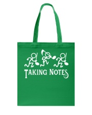 Taking Notes Funny Music Director Teacher Musician Tote Bag thumbnail