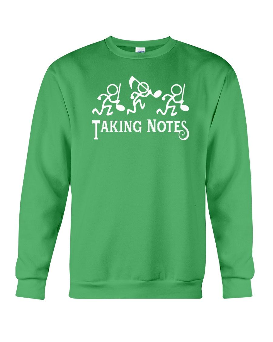 Taking Notes Funny Music Director Teacher Musician Crewneck Sweatshirt