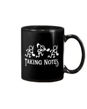 Taking Notes Funny Music Director Teacher Musician Mug thumbnail
