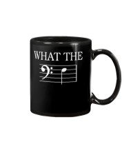 WHAT THE F BASS CLEF VERSION TSHIRT Mug thumbnail