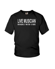 FUNNY MUSIC THEORY TSHIRT  BASS Youth T-Shirt tile