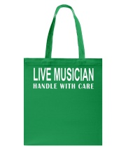 FUNNY MUSIC THEORY TSHIRT  BASS Tote Bag thumbnail