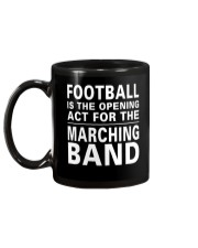 Football Opening Act For Marching Band Funny Mug back