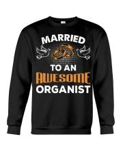 FUNNY  DESIGN FOR ORGAN PLAYERS Crewneck Sweatshirt thumbnail