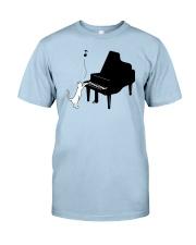 CUTE  DESIGN FOR PIANO PLAYERS Classic T-Shirt thumbnail