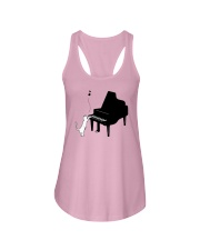 CUTE  DESIGN FOR PIANO PLAYERS Ladies Flowy Tank thumbnail