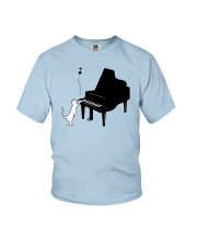CUTE  DESIGN FOR PIANO PLAYERS Youth T-Shirt thumbnail