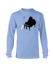 CUTE  DESIGN FOR PIANO PLAYERS Long Sleeve Tee thumbnail