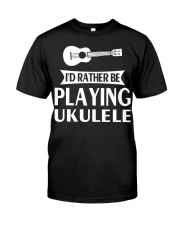 FUNNY DESIGN FOR UKULELE LOVERS Premium Fit Mens Tee thumbnail