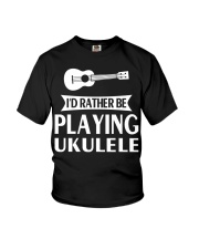 FUNNY DESIGN FOR UKULELE LOVERS Youth T-Shirt thumbnail