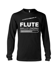 FUNNY DESIGN FOR FLUTE PLAYERS Long Sleeve Tee thumbnail