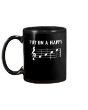 Put On A Happy FACE Funny Music Musician Mug back