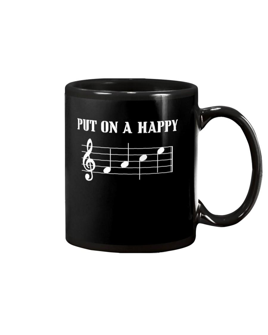 Put On A Happy FACE Funny Music Musician Mug