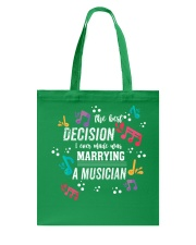 MARRYING COUPLE MARRIED MARRY MUSICIAN TSHIRT Tote Bag thumbnail