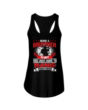 FUNNY DRUM DRUMS TSHIRT FOR DRUMMER Ladies Flowy Tank thumbnail