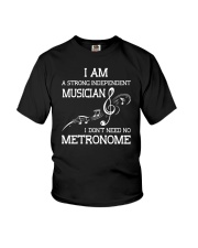 INDEPENDENT MUSICIAN I DON'T NEED NO METRONOME Youth T-Shirt thumbnail