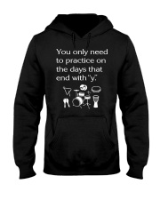 FUNNY DESIGN FOR PERCUSSION PLAYERS Hooded Sweatshirt tile