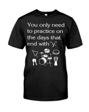 FUNNY DESIGN FOR PERCUSSION PLAYERS Premium Fit Mens Tee tile