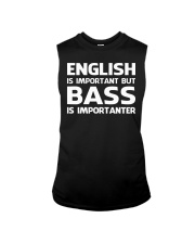 FUNNY BASS GUITAR TSHIRT FOR BASSIST Sleeveless Tee tile