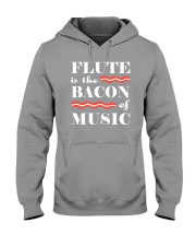 AWESOME DESIGN FOR FLUTE PLAYERS Hooded Sweatshirt thumbnail