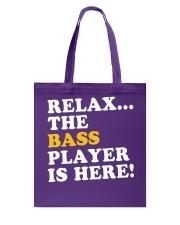 FUNNY BASS GUITAR TSHIRT FOR BASSIST Tote Bag thumbnail
