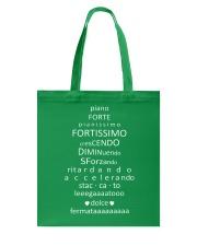 Piano Forte Pianissimo Funny Music Musician Tote Bag thumbnail