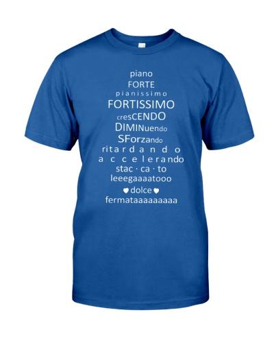Piano Forte Pianissimo Funny Music Musician