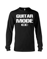 ELECTRIC ACOUSTIC GUITAR TSHIRT FOR GUITARIST Long Sleeve Tee thumbnail